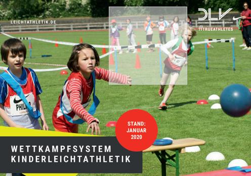 Wettkampfbroschüre Kinderleichtathletik verfügbar