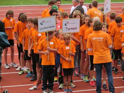 VR-Talentteam 2013 im Ulmer Donaustadion