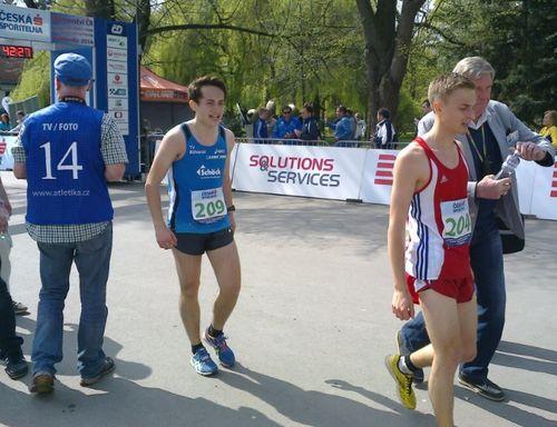 Nathaniel Seiler geht über 10km Norm für U20-WM