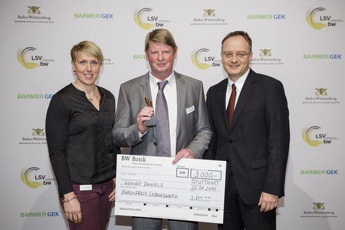 """Werner Daniels mit dem """"Ehrenpreis Lebenswerk"""" ausgezeichnet"""