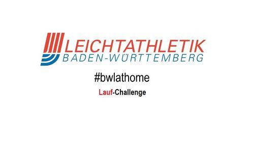 #bwlathome – Lauf-Challenge