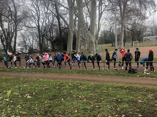 Kaderläufer starten traditionell in Mannheim ins neue Jahr