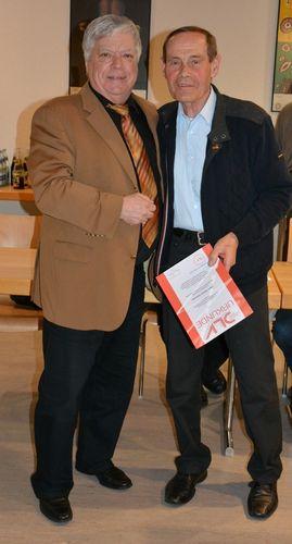 Erfolgreiche Verbandsratstagung - Theo Scheuerer mit DLV-Gold geehrt
