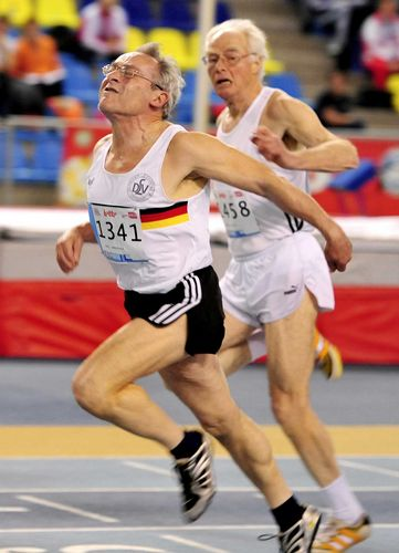 Fünf Mal Gold und zwei Weltrekorde für Elfriede Hodapp