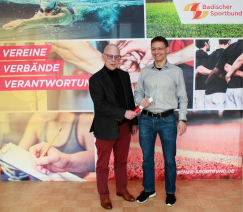 Michael Titze wird neuer Geschäftsführer des Badischen Sportbunds Nord