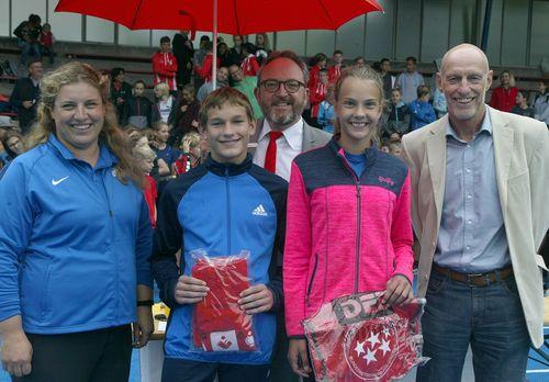 """Baden-Finale """"Jugend trainiert für Olympia"""" Leichtathletik in Baden-Baden"""