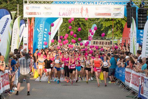 Ohne Frauen läuft hier nichts! -  Am 1. Juli 2016 startet zum dritten Mal der Frauenlauf Mannheim