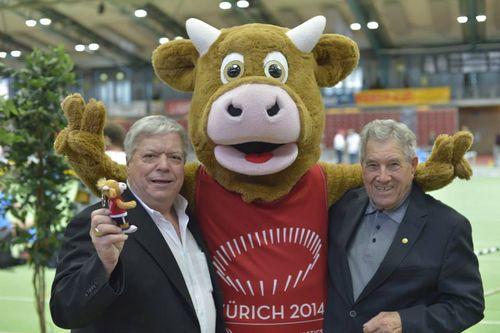 Bilder vom zweiten Tag der Süddeutschen Hallenmeisterschaften 2014