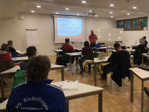 Besondere Lauf-Fortbildung in Schöneck