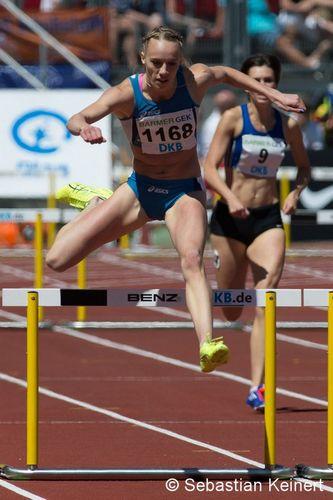 Olympianorm für Jackie Baumann & Nadine Hildebrand
