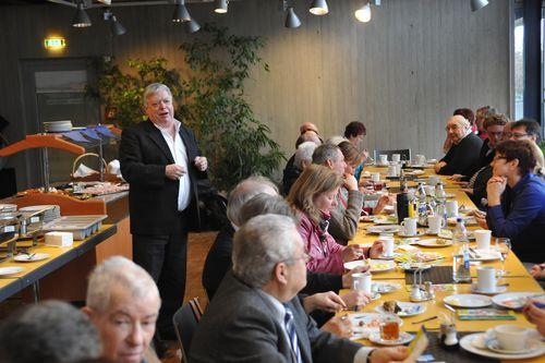 Frühstücks-Brunch mit Ehemaligen Funktionären, Sponsoren und Gönnern