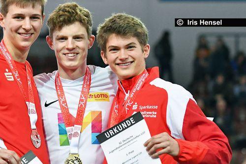 Deutsche Jugend-Hallenmeisterschaften am 15./16. Februar 2020 in Neubrandenburg