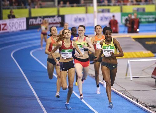 Mittelstrecke beim INDOOR MEETING Karlsruhe verspricht dank afrikanischer Konkurrenz Weltklasse-Leichtathletik
