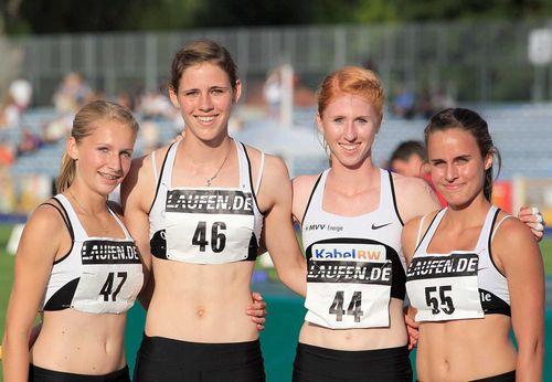 Goldmedaillen für Staffel-Mädchen aus Mannheim und Weitspringerin Malaika Mihambo