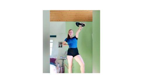 Auch der Leichtathletik Verein Donaueschingen trainiert zu Hause