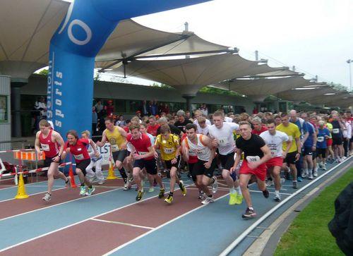 Über 1000 Läufer und Walker beim Turnfestlauf