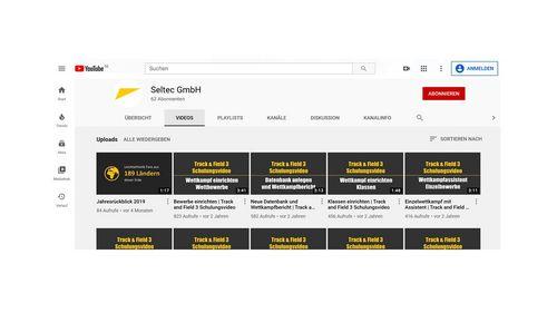 Seltec YouTube-Kanal: Track & Field 3 Schulungsvideos verfügbar