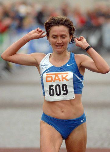 Irina Mikitenko sorgt mit deutschem Rekord für Glanzpunkt