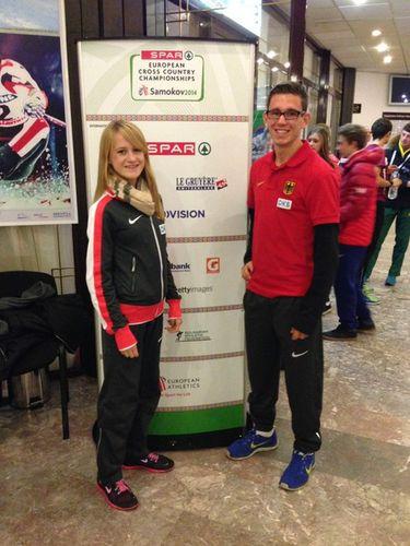 Fabienne Amrhein und Jannik Arbogast mit starker Leistung bei Cross-EM