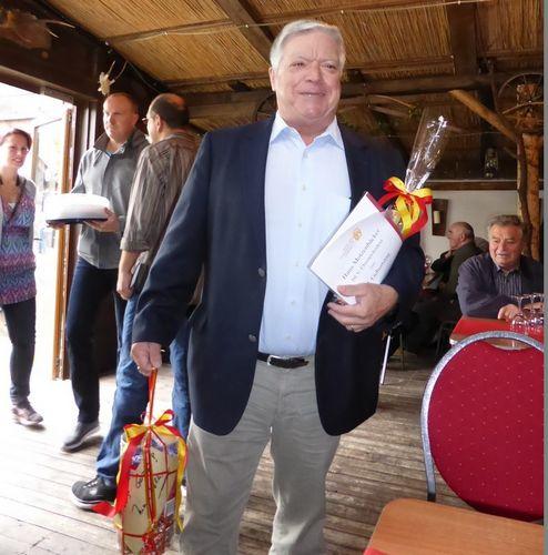 Hans Motzenbäcker feierte 80. Geburtstag