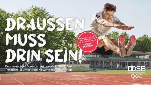 DFB und DOSB starten Kampagne und Petition für Amateursport