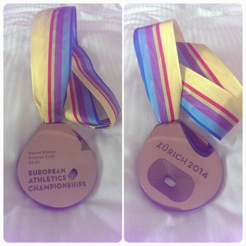 EM-Bronze für Shanice Craft