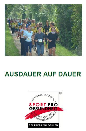 """Kursleiterschulung """"Ausdauer auf Dauer"""" am 11. Oktober 2015 in Tübingen"""