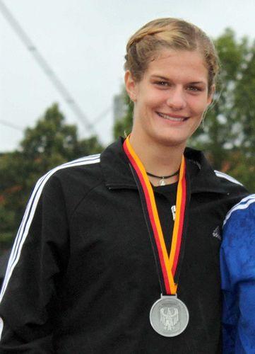 Anna Maiwald Junioren-Vizemeisterin