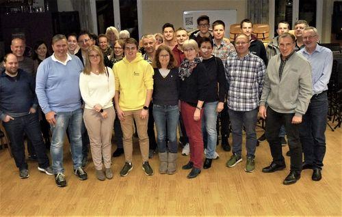 Große Teilnehmerzahl bei der Kampfrichter Fortbildung Leichtathletik Kreis Schwarzwald-Baar