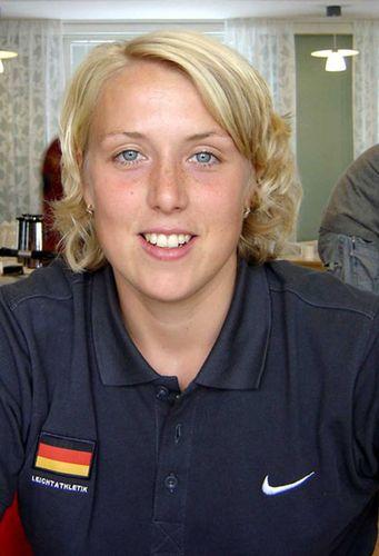 Die badischen Leichtathleten gratulieren<br>Christina Obergföll (LG Offenburg)
