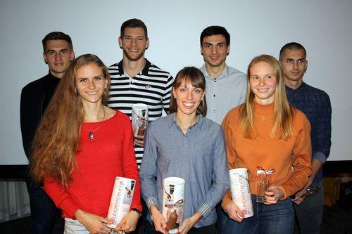 International erfolgreiche baden-württembergische Leichtathleten geehrt